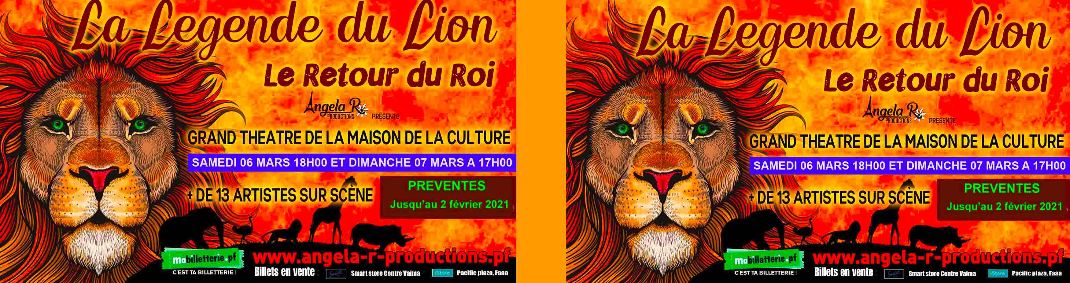 LA LEGENDE DU LION A TAHITI